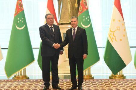 Tajikistan and Turkmenistan Hold Summit Talks