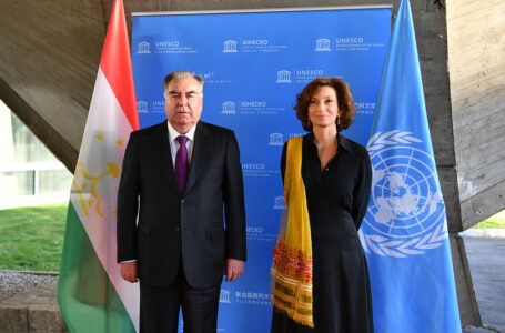 Meeting with UNESCO Director-General Audrey Azoulay