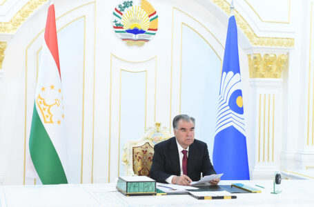 Participation in the meeting of the CIS Heads of State Council