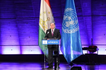 Speech by the President of Tajikistan at the opening ceremony of the Tajikistan Culture Day in UNESCO